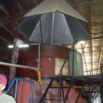 Apimondia 2011 Argentina technical tour Wax plant